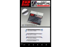 Top Studio Braided Line 0.6mm (Black) - TD23205