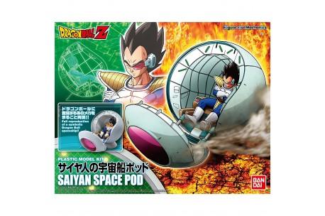 Figure-rise mechanics saiyan/'s space ship pod vegeta dragon ball z bandai new ***