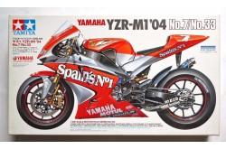 1/12 Yamaha YZR-M1'04 No.7/No.33 - 14100
