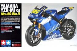 1/12 Yamaha YZR-M1 '05 No.46/No.5 - 14116