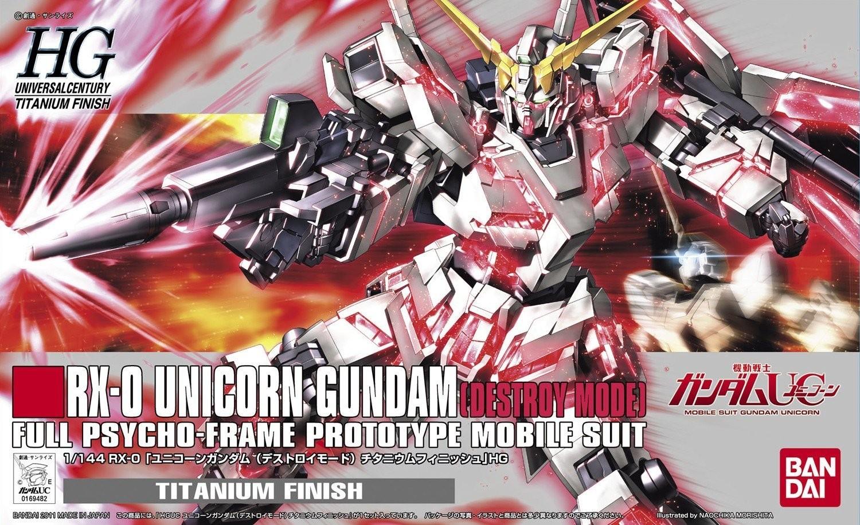High Grade Hg Up Scale Hobbies Gundam Mechanics Dendrobium 1 144 Unicorn Titanium Finish 169482