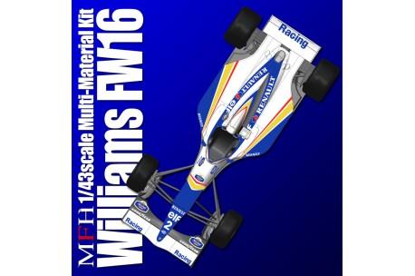 1/43 Full Detail Williams FW16 Ver  A