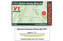 N Scale V1 Mainline Passing Siding Set - 208601
