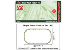 N Scale V2 Single Track Viaduct Set - 208611