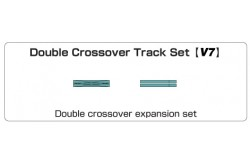 N Scale V7 Double Crossover Track Set - 208661
