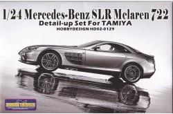 1/24 Mercedes-Benz SLR Mclaren 722 Detail-up Set - HD02-0129
