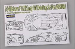 1/24 Mclaren F1 GTR Long Tail Detail-up Set - HD02-0283