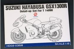 1/12 Suzuki Hayabusa GSX 1300R Detail-up Set - HD02-0358