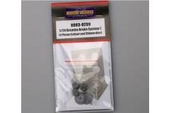 1/24 Brembo Brake System 1 (4 Piston Caliper And 355mm Disc) - HD03-0209