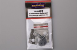 1/24 Brembo Brake System 1 (6 Piston Caliper And 380mm Disc) - HD03-0210