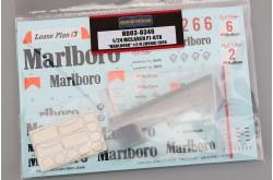 """1/24 Mclaren F1-GTR Marlboro"""" No.2/6 Zhuhai 1996 - HD03-0346"""