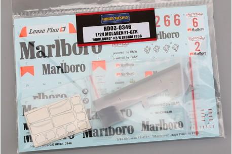 Hobby Design Mclaren F1-GTR Marlboro