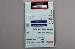1/24 Option Parts Manufactures Logo(2) - HD04-0074