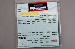 1/24 Option Parts Manufactures Logo(5) - HD04-0077