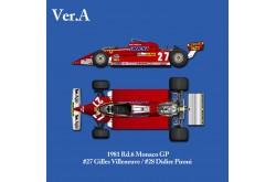 1/12 Full Detail Ferrari 126CK Ver. A - K529
