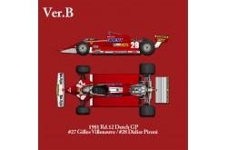 1/12 Full Detail Ferrari 126CK Ver. B - K530