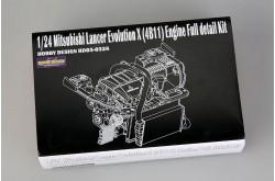 1/24 Evo X (4B11) Engine Full detail Kit - HD03-0328