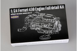 1/24 Ferrari 430 Engine Full detail Kit - HD03-0317