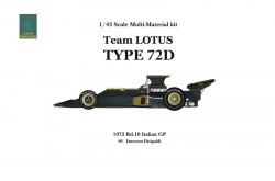 1/43  Full Detail LOTUS Type72D Var. B - K334