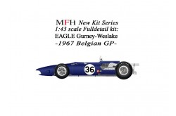 1/43  Full Detail EAGLE Gurney-Weslake - K329