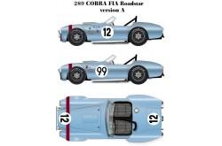 1/24 Full Detail kit 289 Cobra FIA Roadstar Ver. A - K204