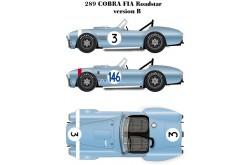 1/24 Full Detail kit 289 Cobra FIA Roadstar Ver. B - K205