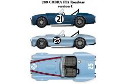 1/24 Full Detail kit 289 Cobra FIA Roadstar Ver. C - K206