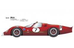 1/24 Full Detail kit P68 '68 Ver. B - K220
