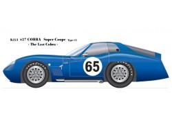 1/24 Full Detail kit Type65 Cobra Super Coupe - K221