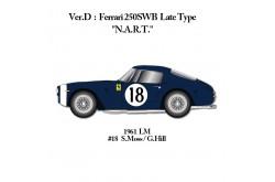 1/24 Full Detail kit Ferrari 250SWB Ver. D - K542