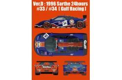 1/24 Full Detail kit McLaren F1 GTR Ver. D - K361