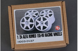 1/24 Alfa Romeo 155-V6 Racing Wheels - HD03-0437