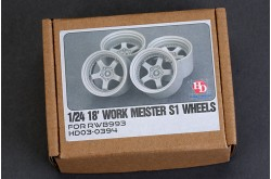 1/24 18' Work Meister S1 Wheels For RWB993 - HD03-0394