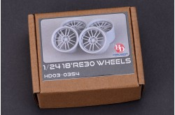 1/24 18' RE30 Wheels - HD03-0354