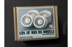 1/24 18' BBS RS Wheels For Jdm Series - HD03-0496