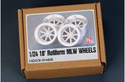 1/24 18' Rotiform MLW Wheels - HD03-0466