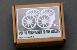 1/24 18' Vorsteiner FF-102 Wheels - HD03-0456