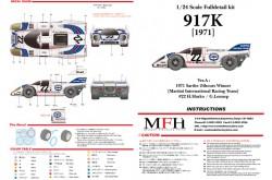 1/24 Full Detail kit 917K [1971] Ver. A - K448