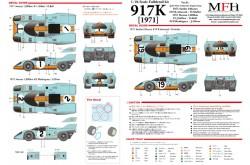 1/24 Full Detail kit 917K [1971] Ver. B - K449
