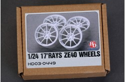 1/24 17 RAYS ZE40 Wheels - HD03-0449