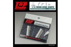 Top Studio 1/12  resin hose joints (1.3mm)