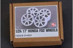 1/24 17 HONDA FD2  Wheels - HD03-0450
