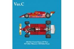 1/12 Full Detail Ferrari 126CK Ver. C - K639