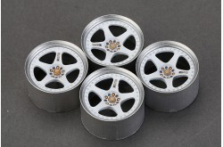 "1/24 18"" NISMO LMGT2 Wheels for Tamiya R32 - HD03-0400"