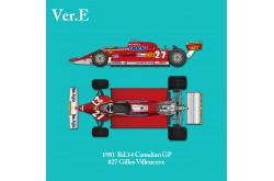 1/12 Full Detail Ferrari 126CK Ver. E - K641
