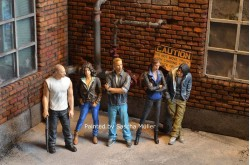 Fast & Furious Resin Figures