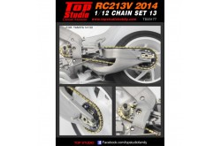Top Studio 1/12 Chain Set 13: 2014 RC213V - TD23177