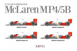 1/12 Full Detail McLaren MP4/5B Ver. D - 458