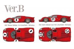 1/12 Full Detail Ferrari 330 P4 (Closed body) Ver. B - K493