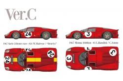 1/12 Full Detail Ferrari 330 P4 (Closed body) Ver. C - K494